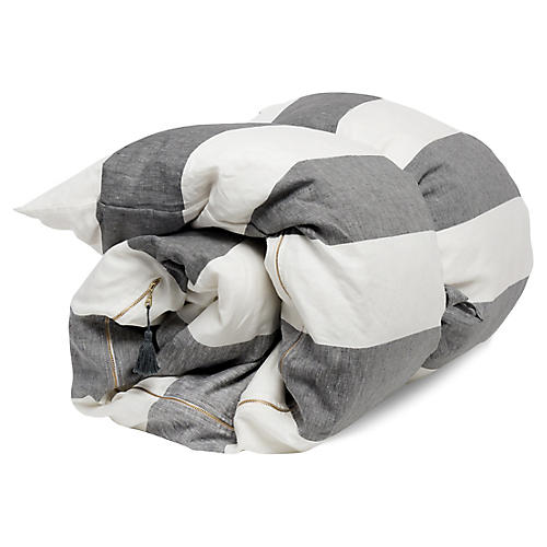Harbour Island Throw Bed, Charcoal