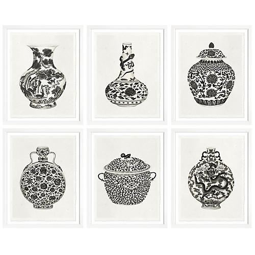 S/6 Vases