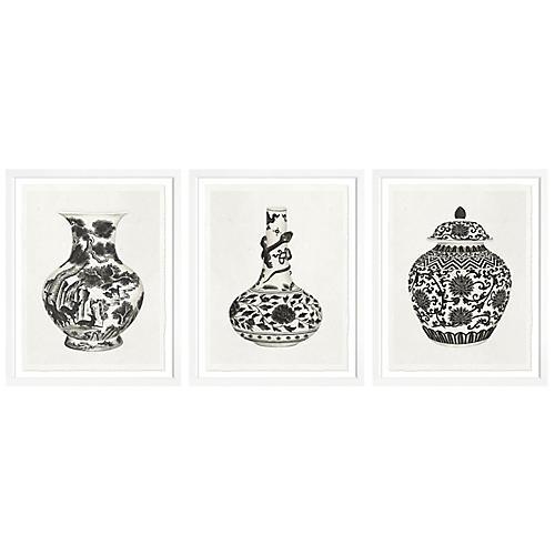 , S/3 Vases