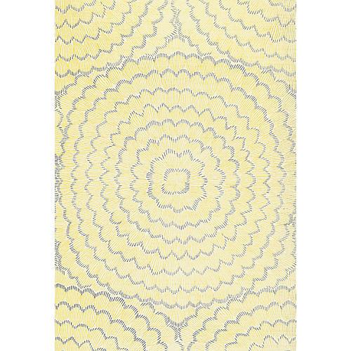 Feather Bloom Wallpaper, Sun/Fog