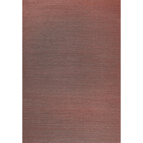 Haruki Sisal Wallpaper, Plum