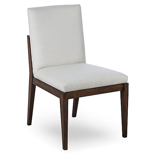 Miranda Side Chair, Ivory
