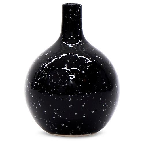 "5"" Slope Vase, Onyx"