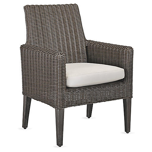 Fillmore Armchair, Natural Sunbrella