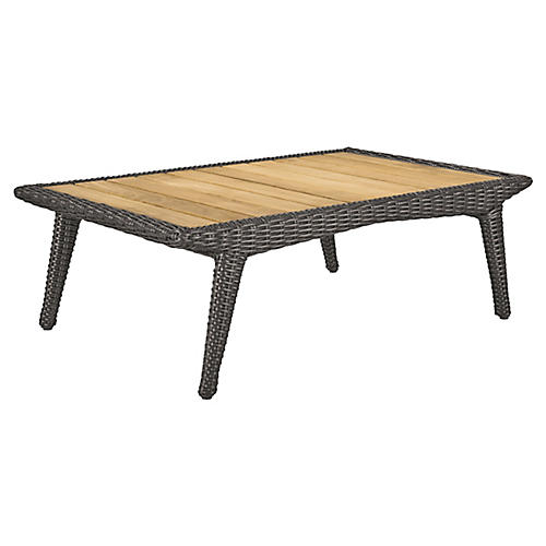 Cooper Coffee Table, Natural/Brown