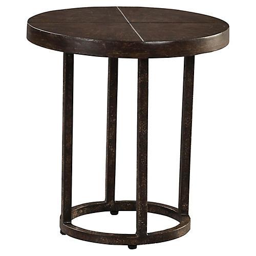 Renaissance Side Table, Brown