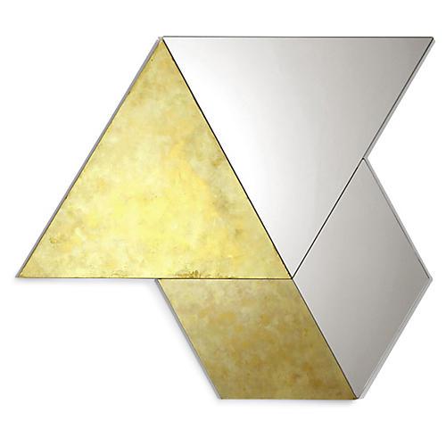 Cosette Accent Mirror Set, Gold
