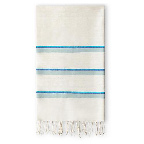 Omo Hand Towel, Azure