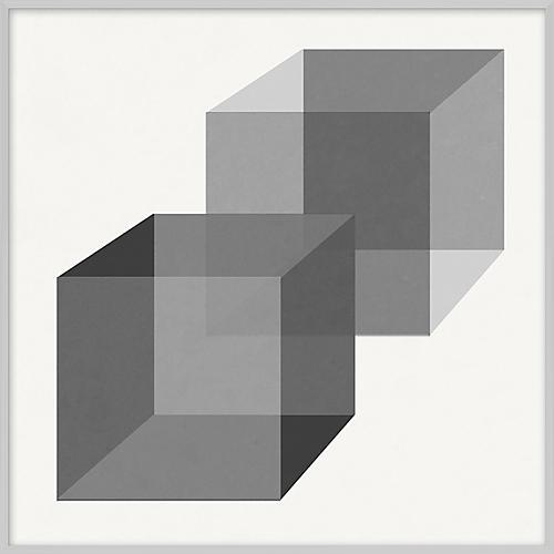 Grayscale Geometric VII