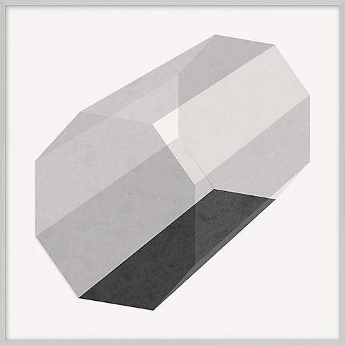 Grayscale Geometric XI