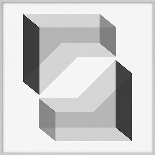 Grayscale Geometric XVII