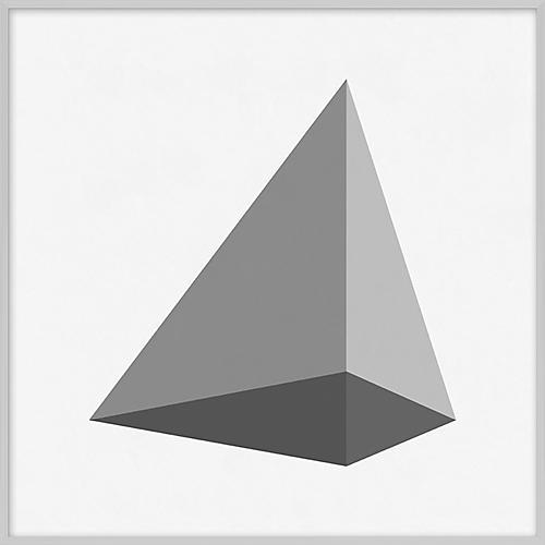 Grayscale Geometric XXI