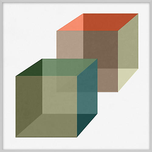 Pastel Geometric VII
