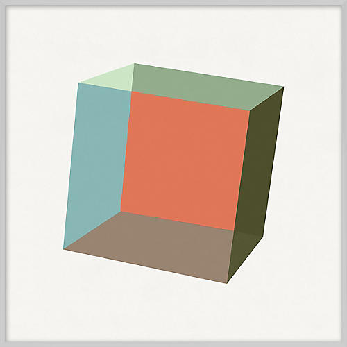 Pastel Geometric XIII