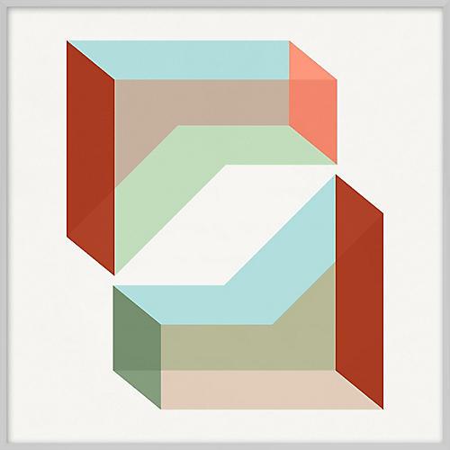 Pastel Geometric XVII