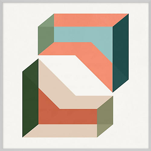 Pastel Geometric XXIII