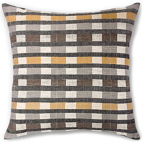 Mursi 26x26 Pillow, Sable