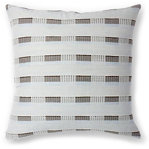 Turmi 18x18 Pillow, Sable