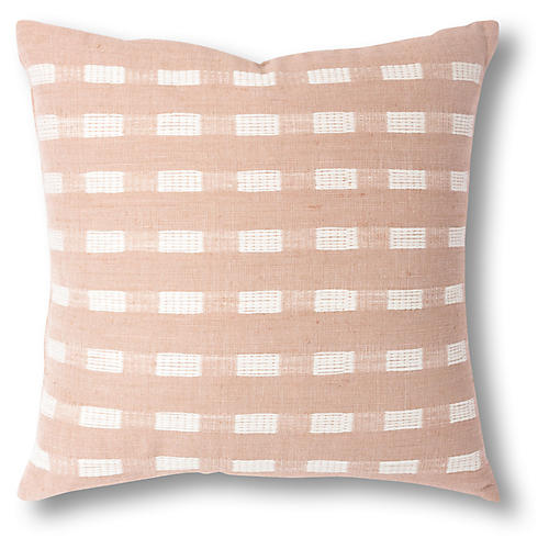 Berchi 20x20 Pillow, Dusty Rose