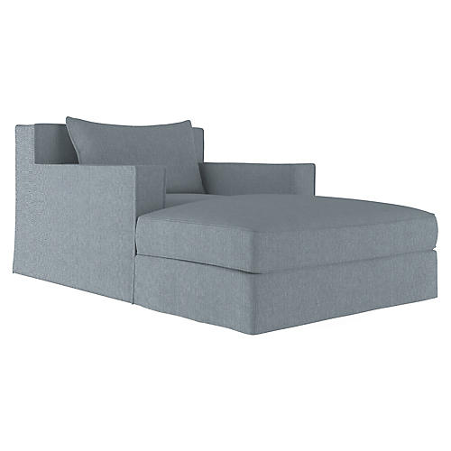 Mulberry Chaise, Haze