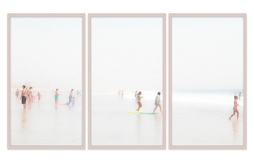 Judith Gigliotti, Boogie Boarders Triptych
