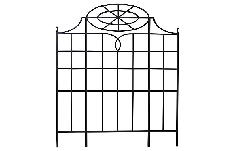 Winterthur Estate Trellis, Black