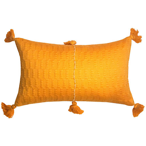 Antigua 12x20 Lumbar Pillow, Orange