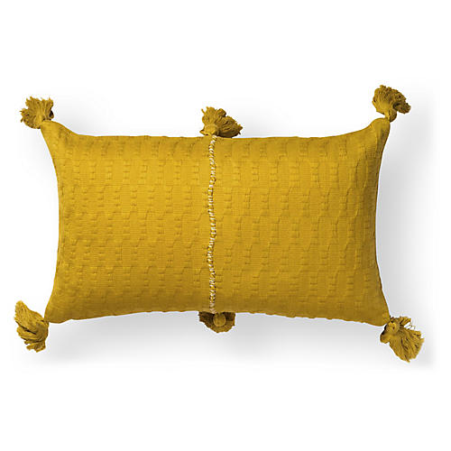 Antigua 12x20 Lumbar Pillow, Ochre