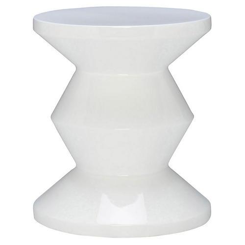 Totum Stool, White