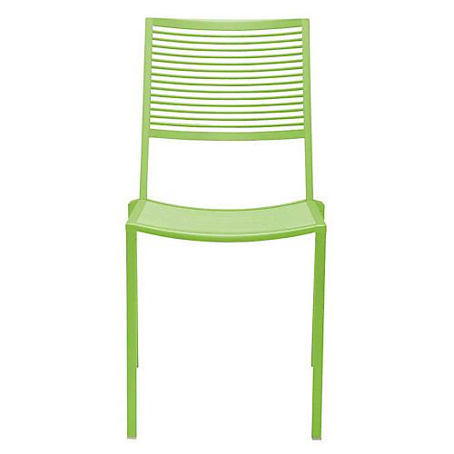 Easy Side Chair, Acid Green