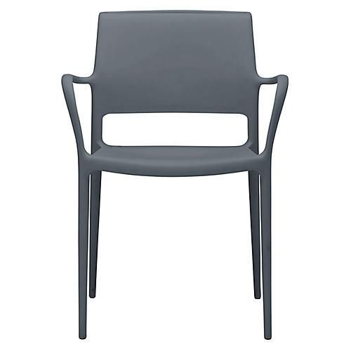 Lure Armchair, Dark Gray