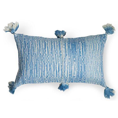 Antigua 12x20 Lumbar Pillow, Ocean Blue