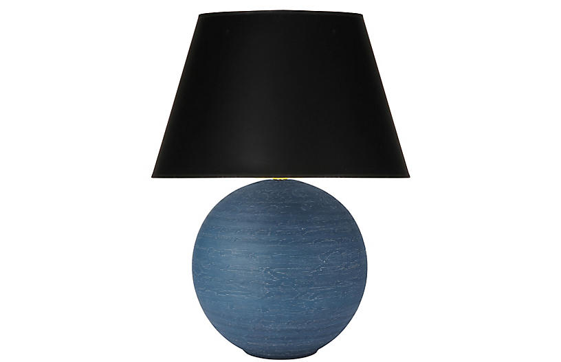 Pomona Table Lamp, After Midnight/Black