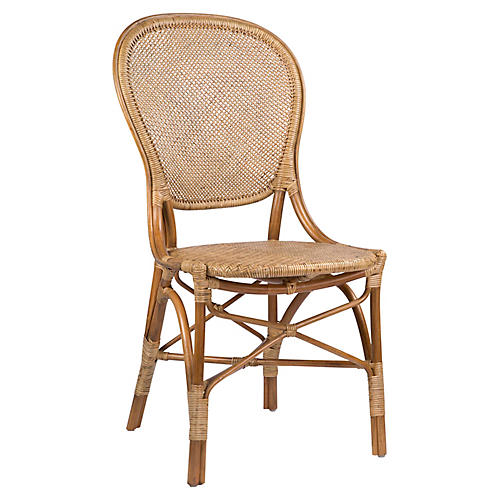 Rossini Bistro Side Chair, Antique