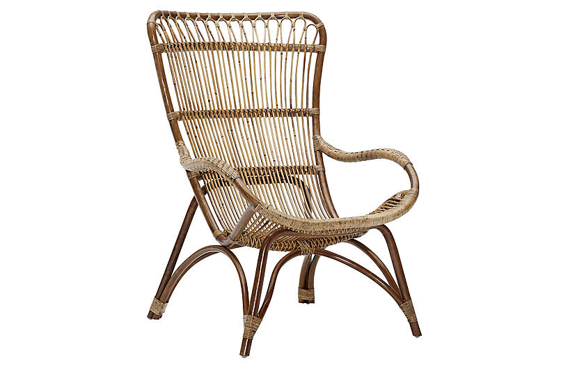 Natural Monet Lounge Chair