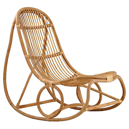 Nanny Rocking Chair, Natural