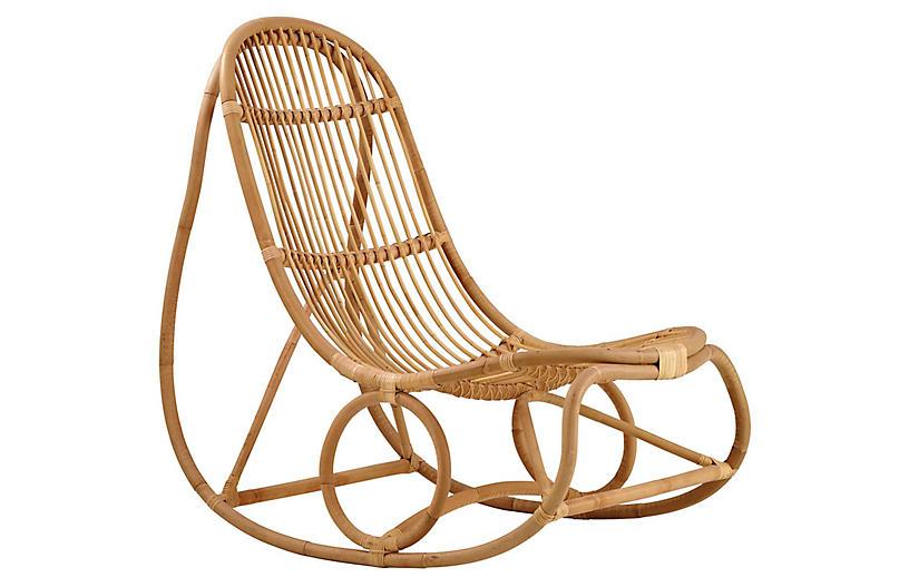 Nanny Rocking Chair, Natural
