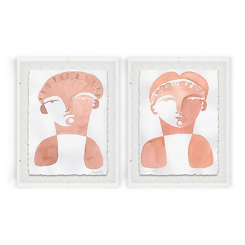 Hayley Mitchell, Geoffori & Tomasa Acrylic Box