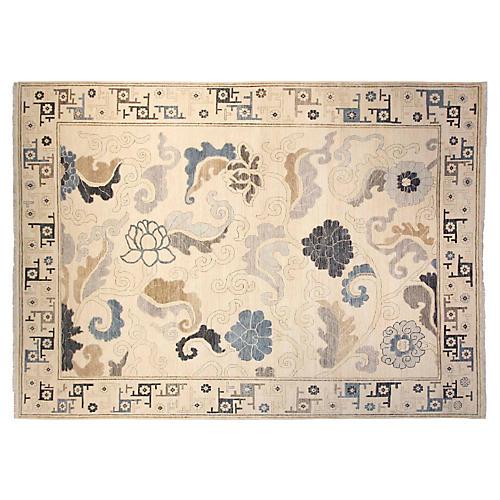 9'x12' Hampton Rug, Ivory