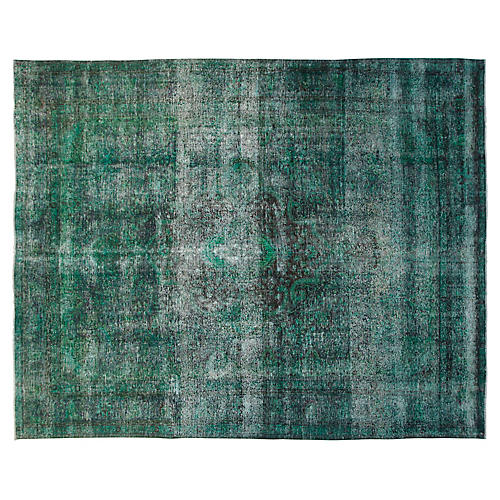 "9'6""x12'6"" Ronnie Rug, Emerald"