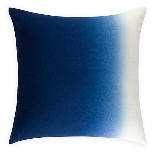 Dip-Dye 24x24 Pillow, Indigo