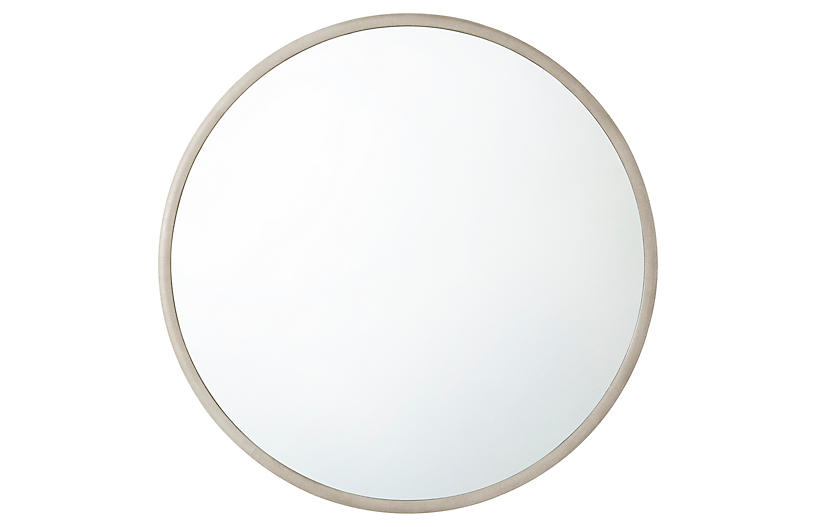 Orbital Wall Mirror, White