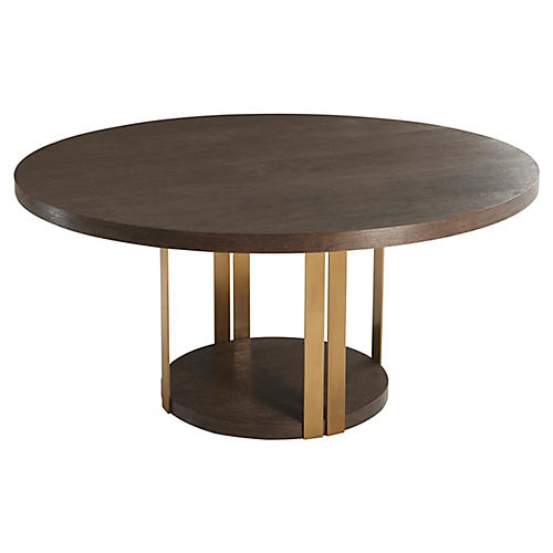 Tambura Dining Table, Cardamon