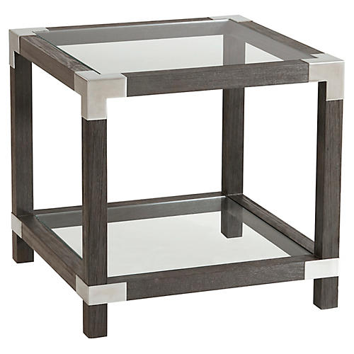 Rayan Side Table, Anise
