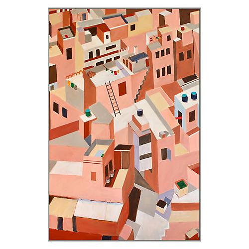 Toni Silber-Delerive, Jaipur, India