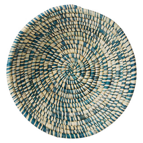 "6"" Majani Petite Decorative Bowl, Heathered Blue"