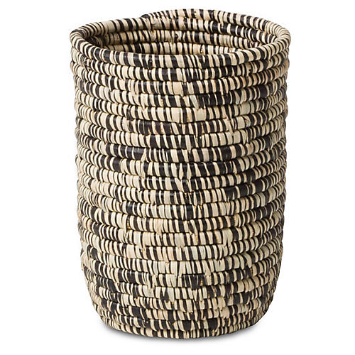 Majani Decorative Cup, Heathered Black