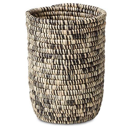 Majani Decorative Cup, Heathered Black