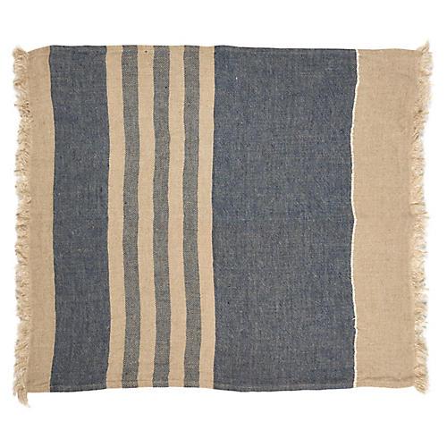 The Belgian Guest Towel, Sea Stripe