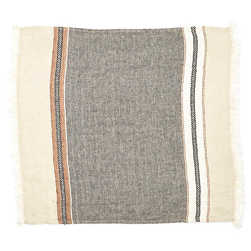 The Belgian Guest Towel, Beeswax Stripe